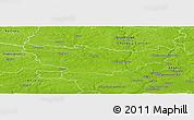 Physical Panoramic Map of Segré