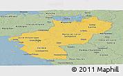 Savanna Style Panoramic Map of Pays-de-la-Loire