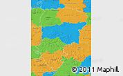 Political Map of Aisne