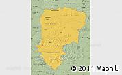 Savanna Style Map of Aisne