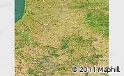 Satellite Map of Picardie