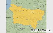 Savanna Style Map of Picardie