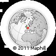 Outline Map of Péronne