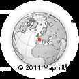 Outline Map of Confolens
