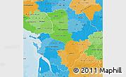 Political Map of Poitou-Charentes