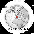 Outline Map of Castellane