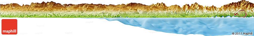Physical Horizon Map of Grasse