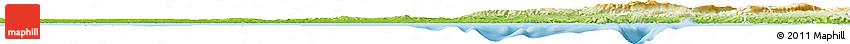 Physical Horizon Map of Bouches-du-Rhône