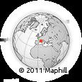 Outline Map of Var