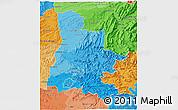 Political Shades 3D Map of Drôme