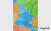 Political Shades Map of Drôme