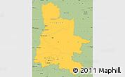 Savanna Style Simple Map of Drôme