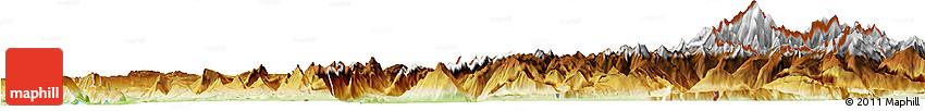 Physical Horizon Map of Haute-Savoie