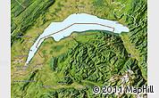 Satellite Map of Thonon-les-Bains