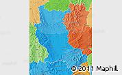 Political Shades Map of Loire