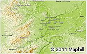 Physical 3D Map of Lyon