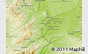 Physical Map of Lyon