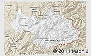 Classic Style 3D Map of Savoie