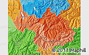 Political Shades Map of Savoie