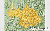 Savanna Style Map of Savoie