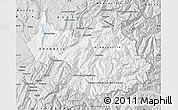 Silver Style Map of Savoie