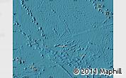 Satellite Map of French Polynesia, physical outside, satellite sea