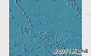 Satellite Map of French Polynesia, political shades outside, satellite sea