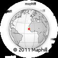 Outline Map of Banjul