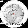 Outline Map of Abkhaz ASSR