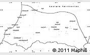 Blank Simple Map of Adzhar ASSR