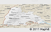 Classic Style Panoramic Map of Freiburg
