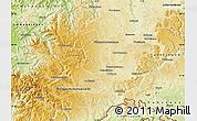 Physical Map of Schwarzwald-Baar-Kreis