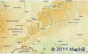 Physical 3D Map of Tuttlingen