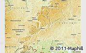 Physical Map of Tuttlingen