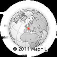 Outline Map of Waldshut