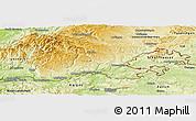Physical Panoramic Map of Waldshut