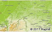 Physical 3D Map of Enzkreis