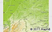 Physical Map of Enzkreis