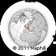 Outline Map of Karlsruhe