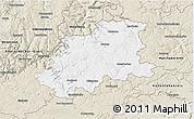 Classic Style 3D Map of Neckar-Odenwald-Kreis