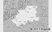 Gray Map of Neckar-Odenwald-Kreis