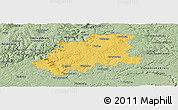 Savanna Style Panoramic Map of Neckar-Odenwald-Kreis