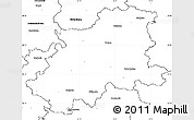 Blank Simple Map of Neckar-Odenwald-Kreis