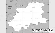 Gray Simple Map of Neckar-Odenwald-Kreis