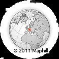 Outline Map of Rastatt
