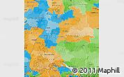 Political Map of Baden-Württemberg