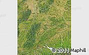 Satellite Map of Baden-Württemberg