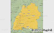 Savanna Style Map of Baden-Württemberg