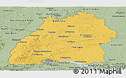Savanna Style Panoramic Map of Baden-Württemberg
