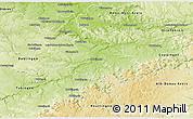 Physical 3D Map of Esslingen